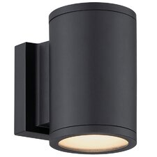 Tube 2 Light Outdoor Sconce