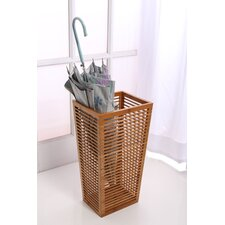 Open Slats Entryway Umbrella & Walking Cane Stand