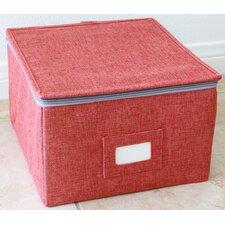 Storage Box Set with Zipper Lid