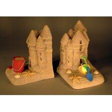 Sand Castle Book Ends