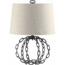"Pitt 22.5"" H Table Lamp with Empire Shade"