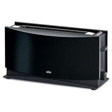 Toaster MultiToast 2 Scheiben 1000 W mit Brötchenaufsatz