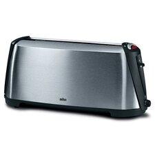 Toaster Impression Sommelier HT 600 2 Scheiben 1000W mit Brötchenaufsatz