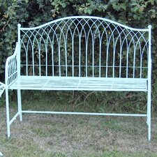 Hampton 2 Seater Steel Bench