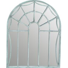Arch Mantle Window Mirror