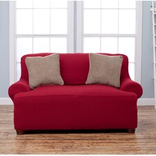 Lucia T-Cushion Loveseat Slipcover