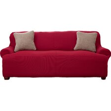 Lucia Corduroy T-Cushion Sofa Slipcover