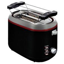 2 Scheiben Toaster mit Brötchenaufsatz