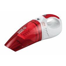 45W Nass-/ Trocken-Akkusauger in Weiß / Rot