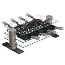 Raclette aus Glas