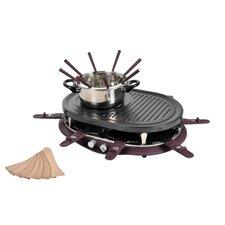 Raclette und Fondue-Kombination