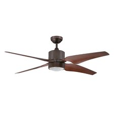 "52"" Nexor 4 Blade Ceiling Fan with Wall Remote"