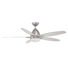 "52"" Genesis 5 Blade Ceiling Fan with Wall Remote"