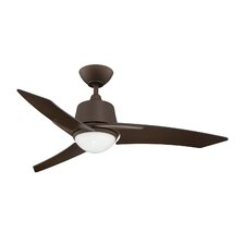 "44"" Scimitar 3 Blade Ceiling Fan with Wall Remote"