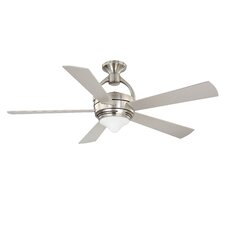"""52"""" Premia 5 Blade Ceiling Fan with Wall Remote"""