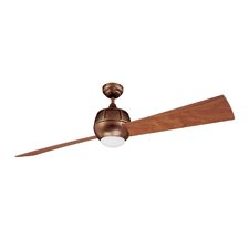 """60"""" Ova 2 Blade Ceiling Fan with Wall Remote"""
