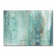 'Abstract Spa' Gallery Graphic Art on Wrapped Canvas