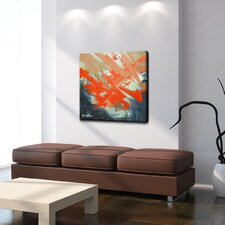 Smash XIV' Oversized Painting Print on Canvas