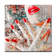 Urban Fashion III Framed Graphic Art on Wrapped Canvas