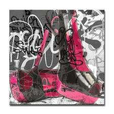 Urban Fashion XVI Graphic Art on Canvas