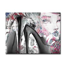 Urban Fashion XXXIX Graphic Art on Canvas