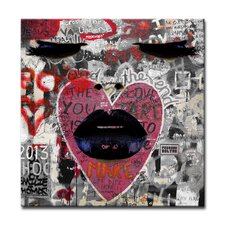 Urban Fashion XXXV Framed Graphic Art on Wrapped Canvas