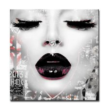 Urban Fashion XXXV-C Framed Graphic Art on Wrapped Canvas