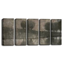 'Granite Banks' by Norman Wyatt Jr. 5 Piece Painting Print on Wrapped Canvas Set