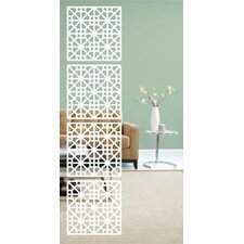 160.04cm x 40.01cm Medina 4 Panel Room Divider (Set of 4)