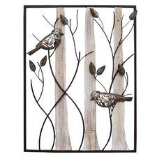 Framed Birds Wall Décor