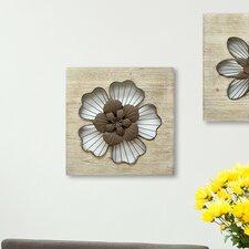 Rustic Flower Wall Décor