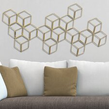Stratton Modern Geometric Wall Décor