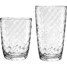 Azura 12 Piece Acrylic Drinkware Set