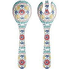 Rio Medallion 2 Piece Serving Fork