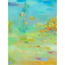 Spring Reflections by AX Original Painting on Wrapped Canvas