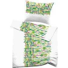 Bettwäsche Set Flen aus  100 % mercerisierter Satin-Mako-Baumwolle