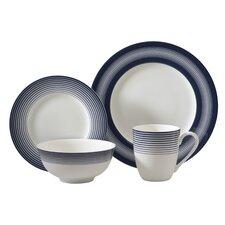 Licorice 16 Piece Dinnerware Set