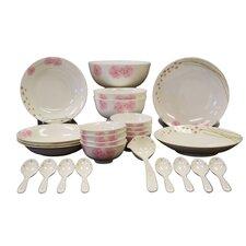Chun Ping 26 Piece Dinnerware Set