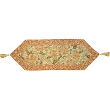 Floral Woven Table Runner