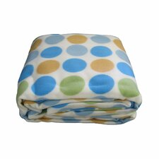 Polka Dot Polar Blanket
