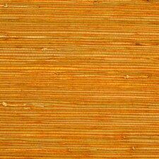 "Rush Grasscloth 18' x 36"" Stripes Wallpaper"