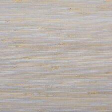 "Boodle Grasscloth 18' x 36"" Stripes Wallpaper"