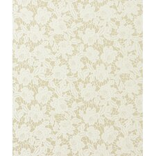 """Adore Classic Lace 32.97' x 20.8"""" Floral and Botanical Wallpaper"""