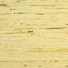 """Arrowroot Grasscloth 18' x 36"""" Stripes Wallpaper"""