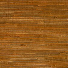 "Duo Jute Grasscloth 18' x 36"" Stripes Wallpaper"