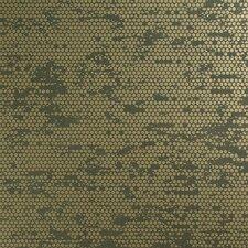 "Chic Glamorous Rustic Metallic 27.5"" x 27.5"" Polka dot Wallpaper"