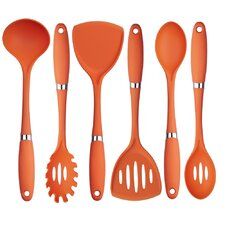 6 Piece Premium Quality Nylon Utensil Set