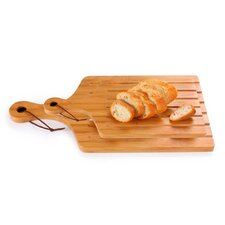 2 Piece Bamboo Serving Board Set