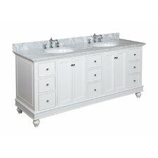 "Bella 72"" Double Bathroom Vanity Set"