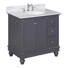 "Bella 36"" Single Bathroom Vanity Set"